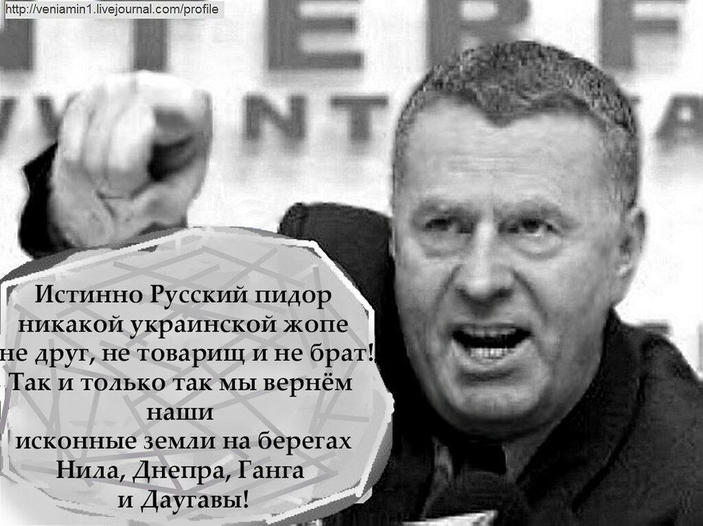 Жириновский, Геи, Украина, Путин,