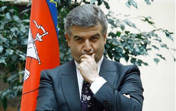 "Премьер-министром Армении стал бывший топ-менеджер ""Газпрома"" Карапетян"
