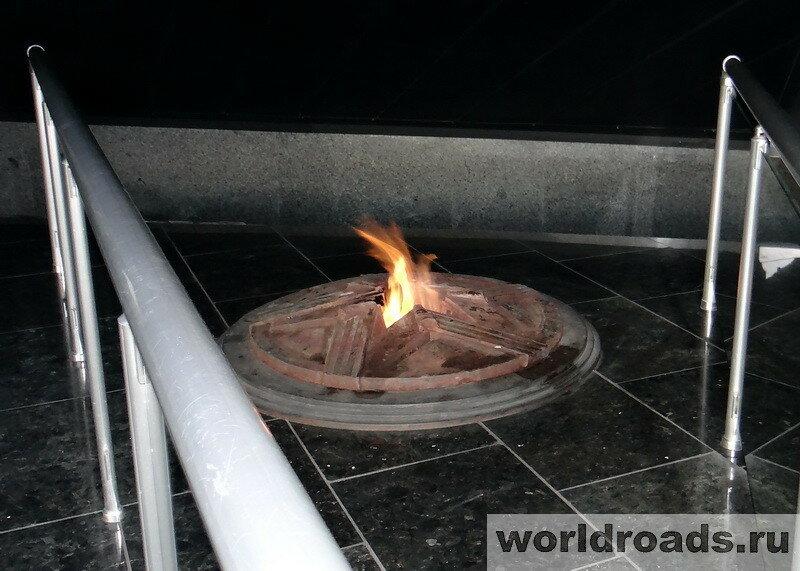 Донецк Вечный огонь