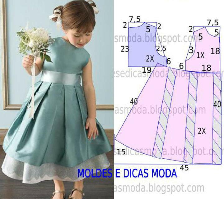 Платье своими руками для начинающих для детей