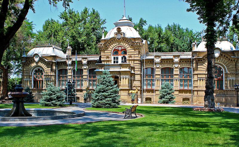 Бывшая резиденция Великого князя Николая Константиновича