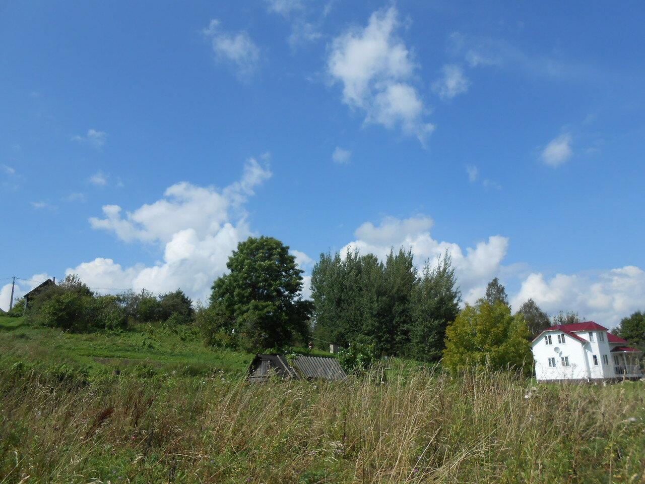 Деревня Борцово