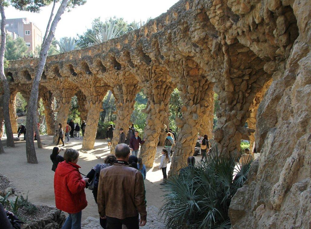 Барселона. Парк Гуэля (Park Güell)