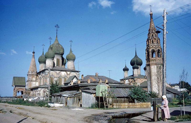 Ярославль 1950-х годов в цвете (18 фото)