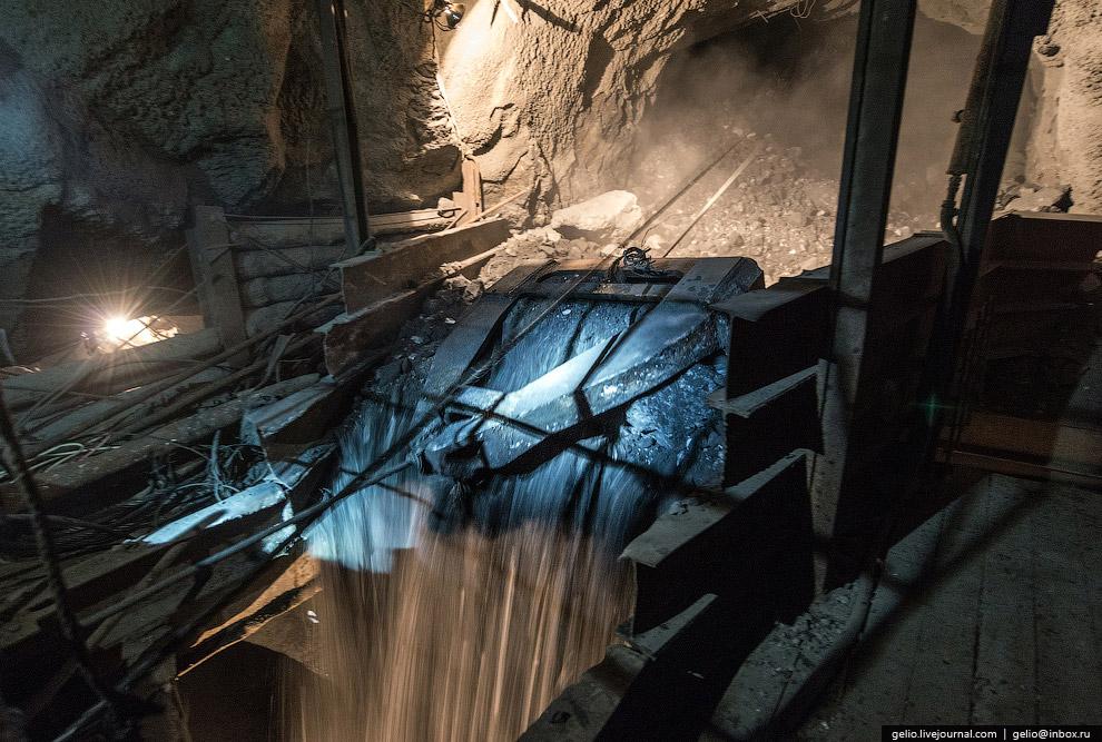 За прошедшее время из добытой железной руды произведено более 100 млн тонн железорудного концен