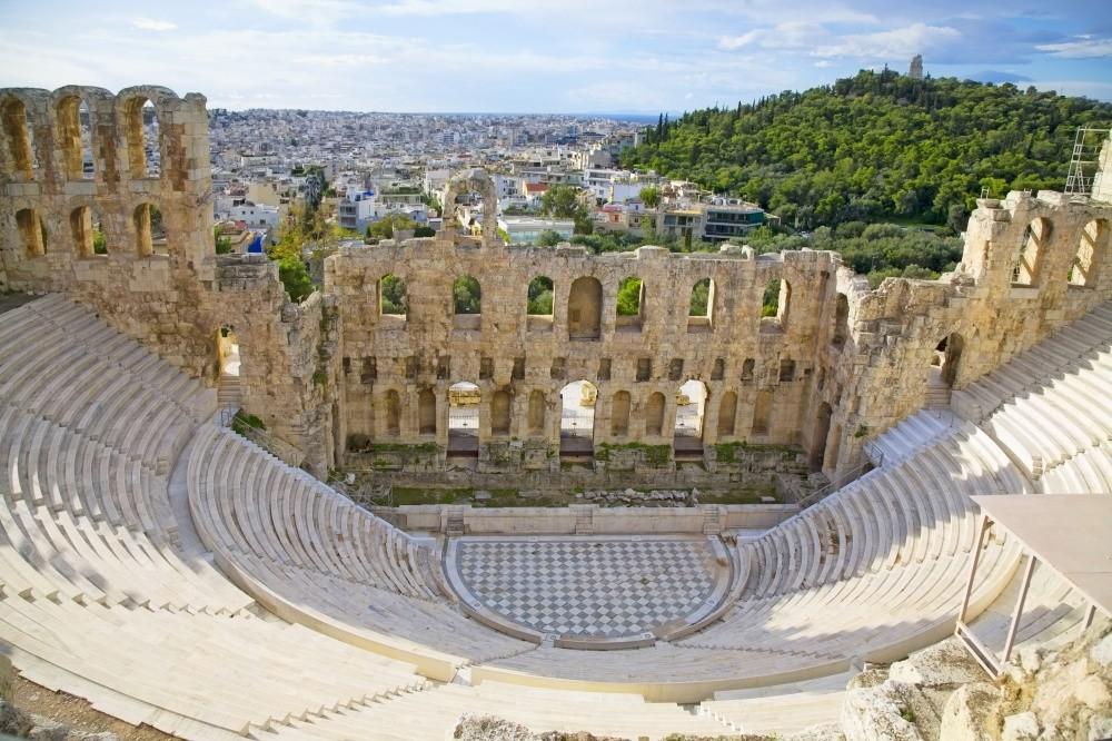 Древние греки были замечательными архитекторами. Именно поэтому и сейчас можно любоваться сохранивши