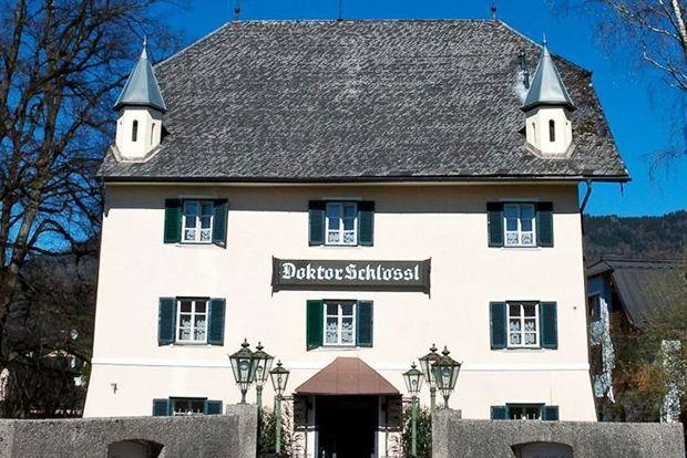Отель Doktorschlossl, Австрия Год постройки: 1116 Этот классический трехзвездочный отель находится н