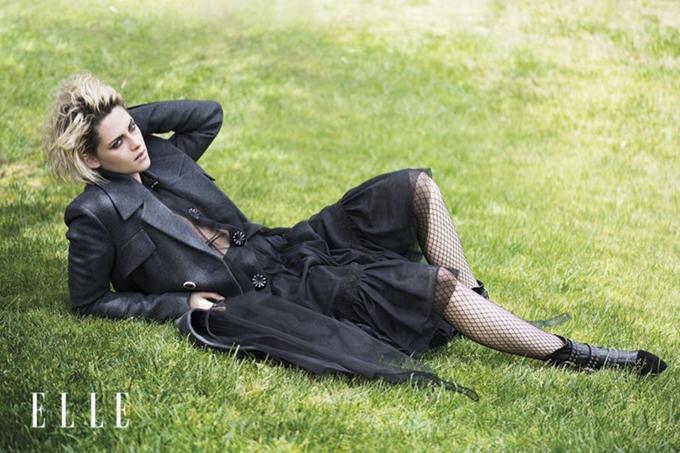 Кристен Стюарт на обложке ELLE UK (5 фото)
