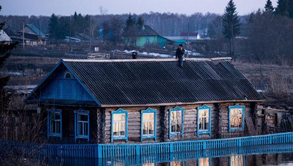 Омской области выделили средства наликвидацию последствий паводка