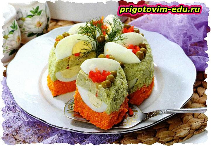 Овощной паштет