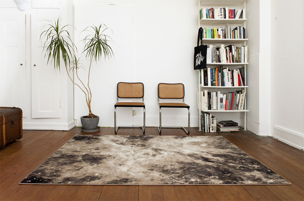 Nebula Rugs and Towels by Schonstaub