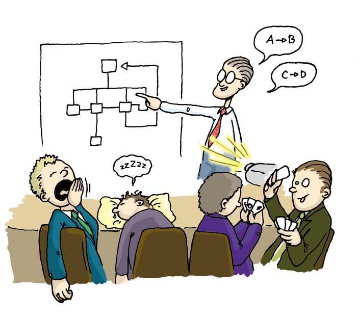презентация должна вызывать интерес