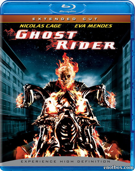 Призрачный гонщик / Ghost Rider [Extended Cut] (2007/BDRip/HDRip)