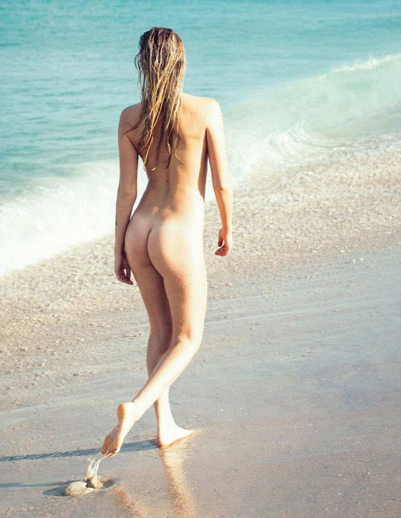 На нудистском пляже с Пейдж Мэри Эванс / Paige Marie Evans by Kelton Critchett - Penthouse january / february 2017