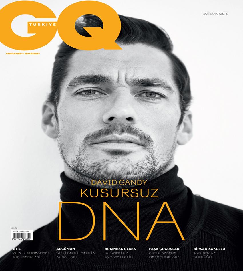 David Gandy - GQ Turkey (October 2016)