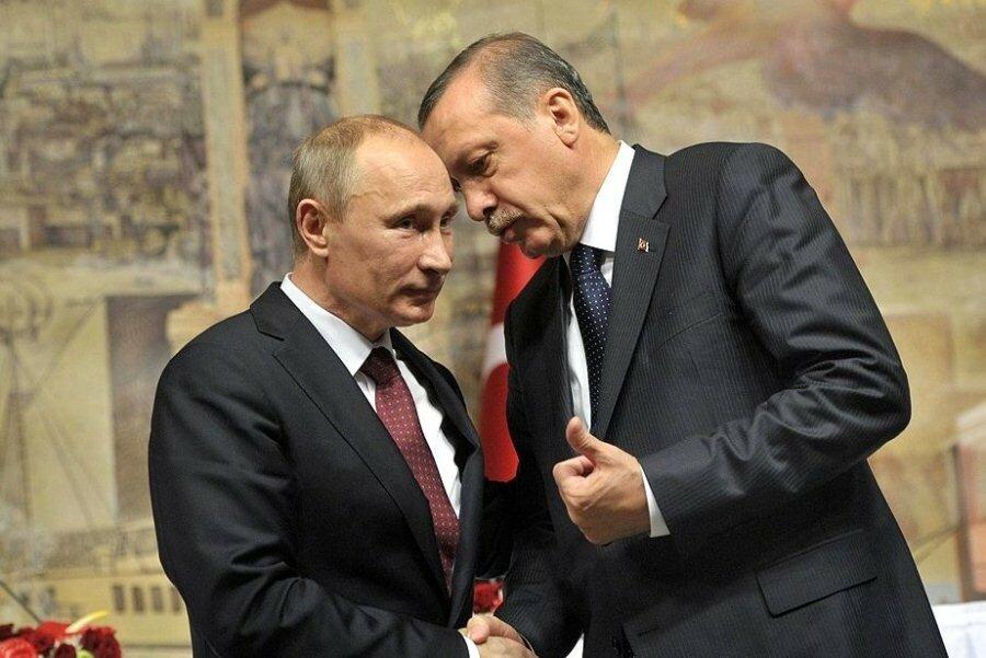 Царь и Султан противостоят Западу – как мировые СМИ отреагировали на встречу Путина и Эрдогана