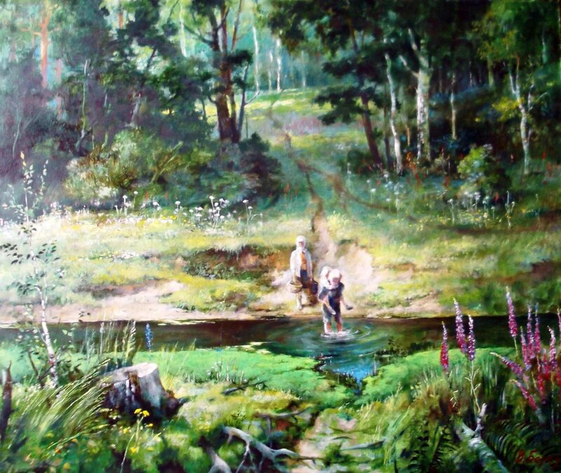 Картина В. Березина, сибирского художника (21).jpg