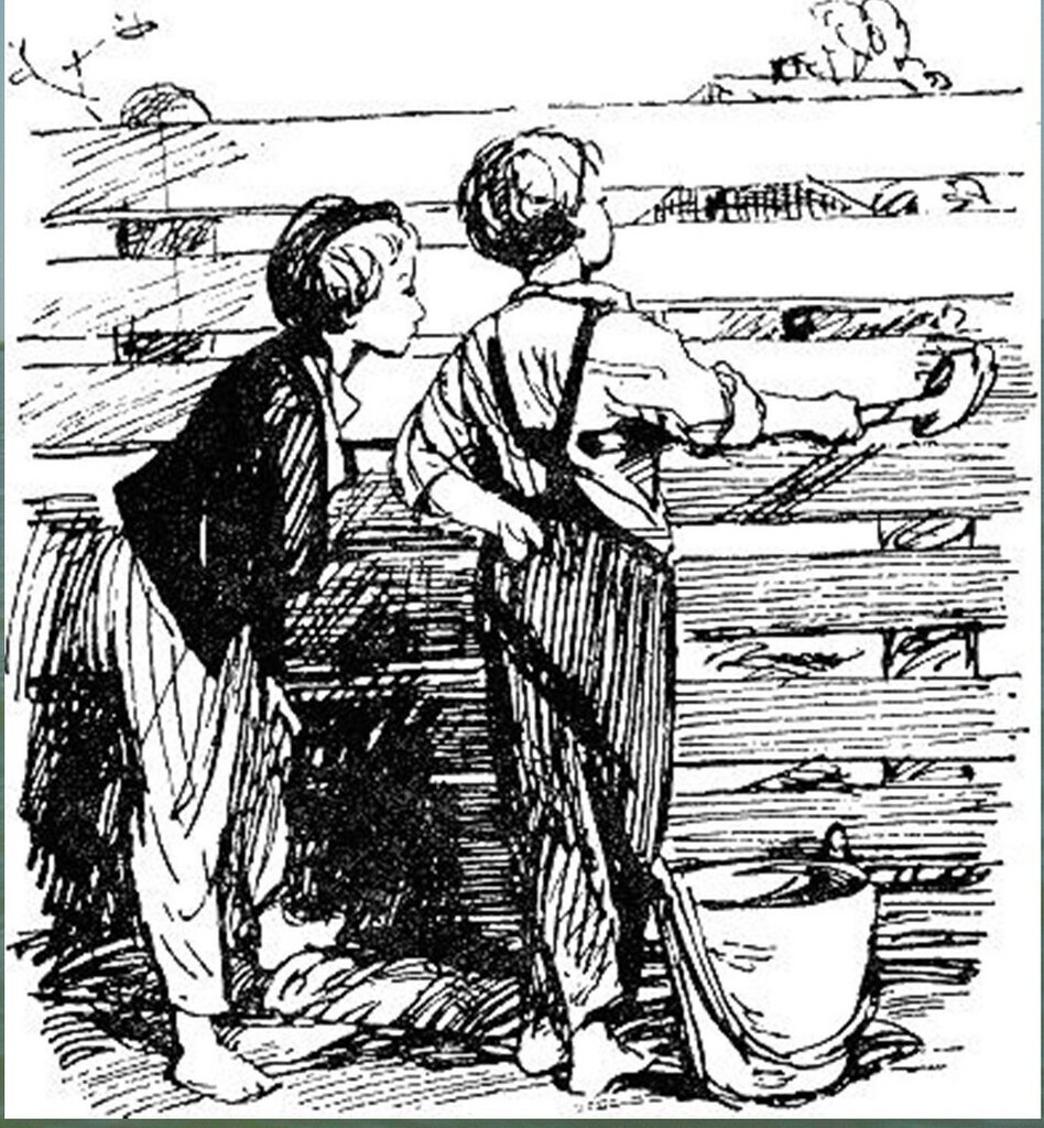 Иллюстрация В. Н. Горяева к пр-ю М.Твена Приключения Тома Сойера (6).jpg