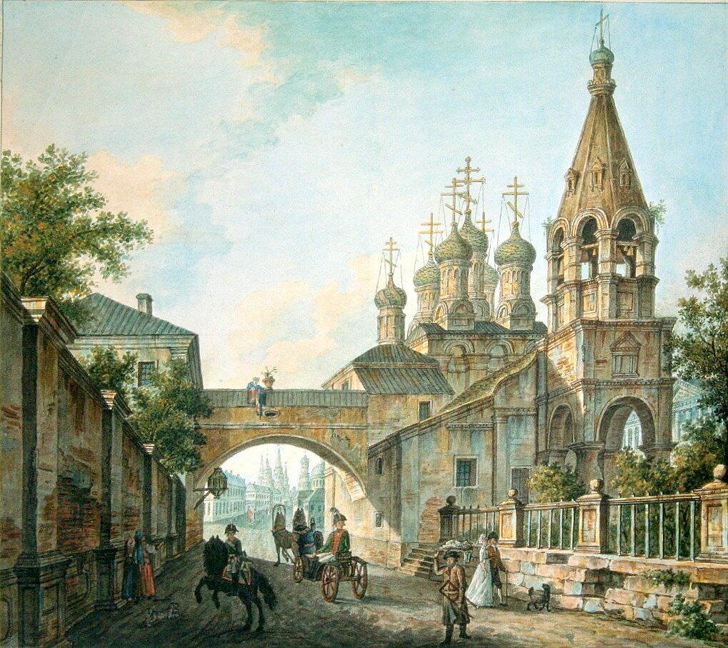 454228 Церковь Тихона Чудотворца у Арбатских ворот.jpg