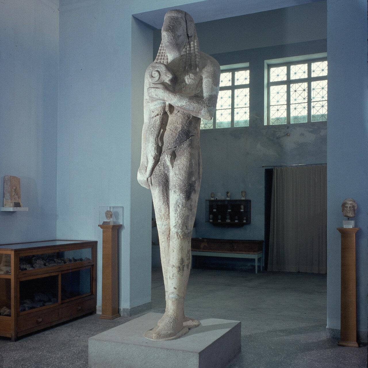 Тасос. Археологический музей. 1964.