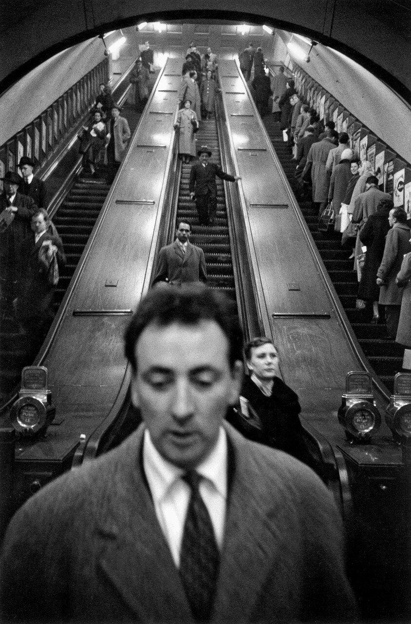 1958-1959. Станция «Бейкер-стрит»
