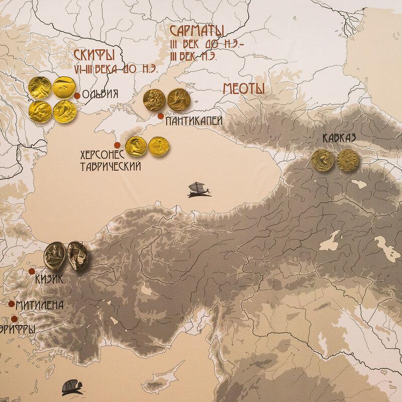 Распространение античных монет к северу
