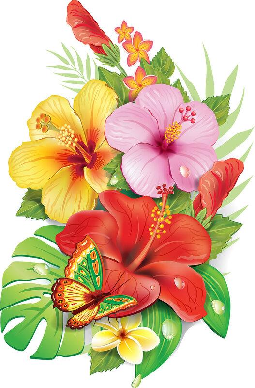 Ramo de flowersv tropical