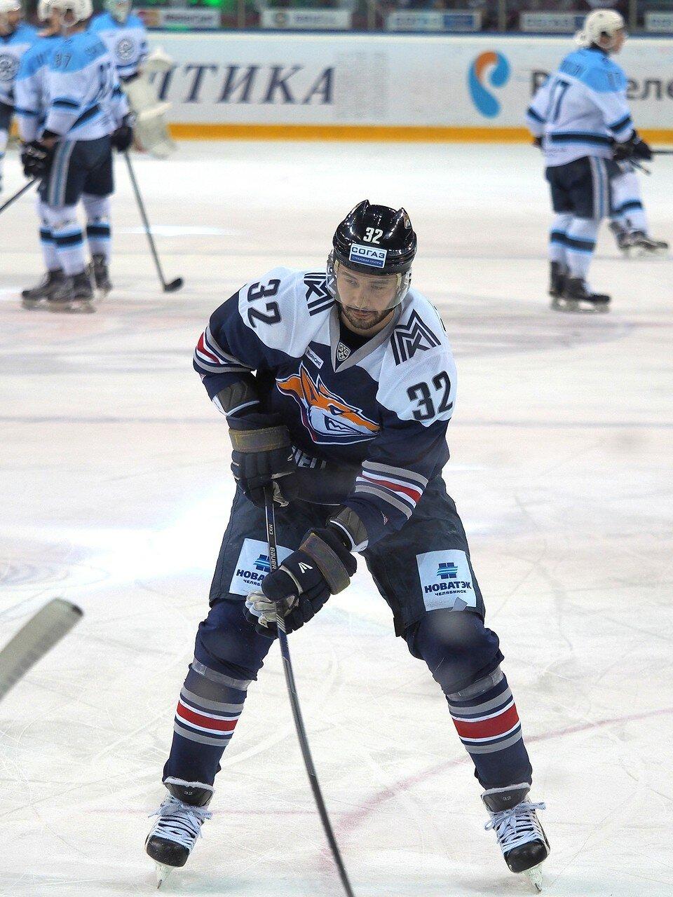 28Плей-офф 2016 Восток 1/2 Металлург - Сибирь 10.03.2016