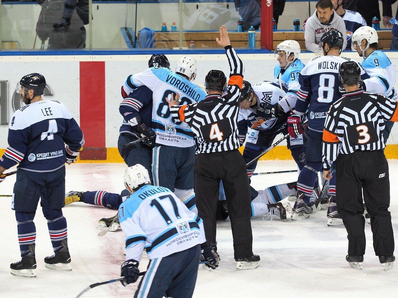 87Плей-офф 2016 Восток 1/2 Металлург - Сибирь 10.03.2016