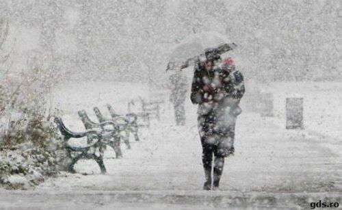 В воскресенье и понедельник в Молдове пройдут снегопады