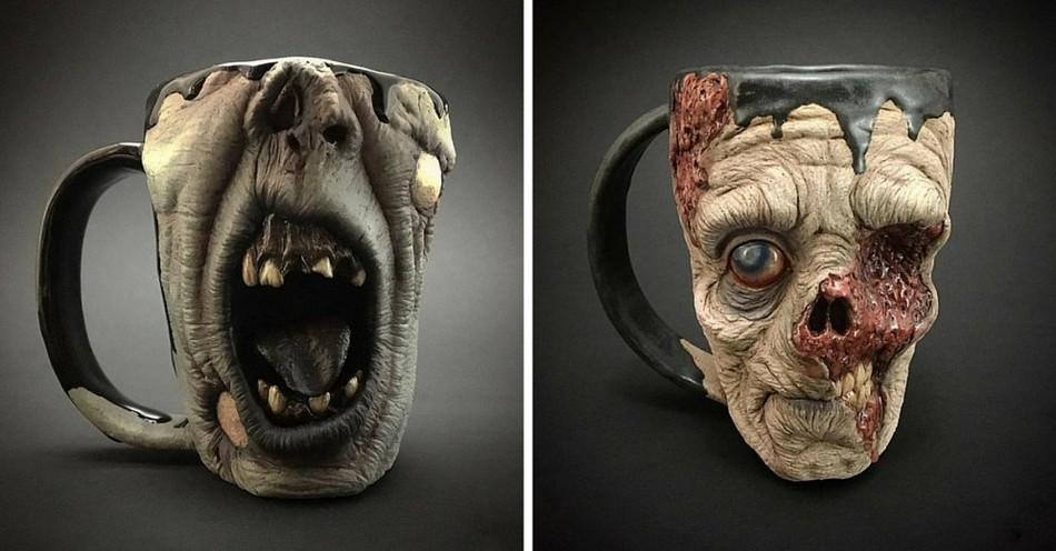 Реалистичные зомби-кружки за $220