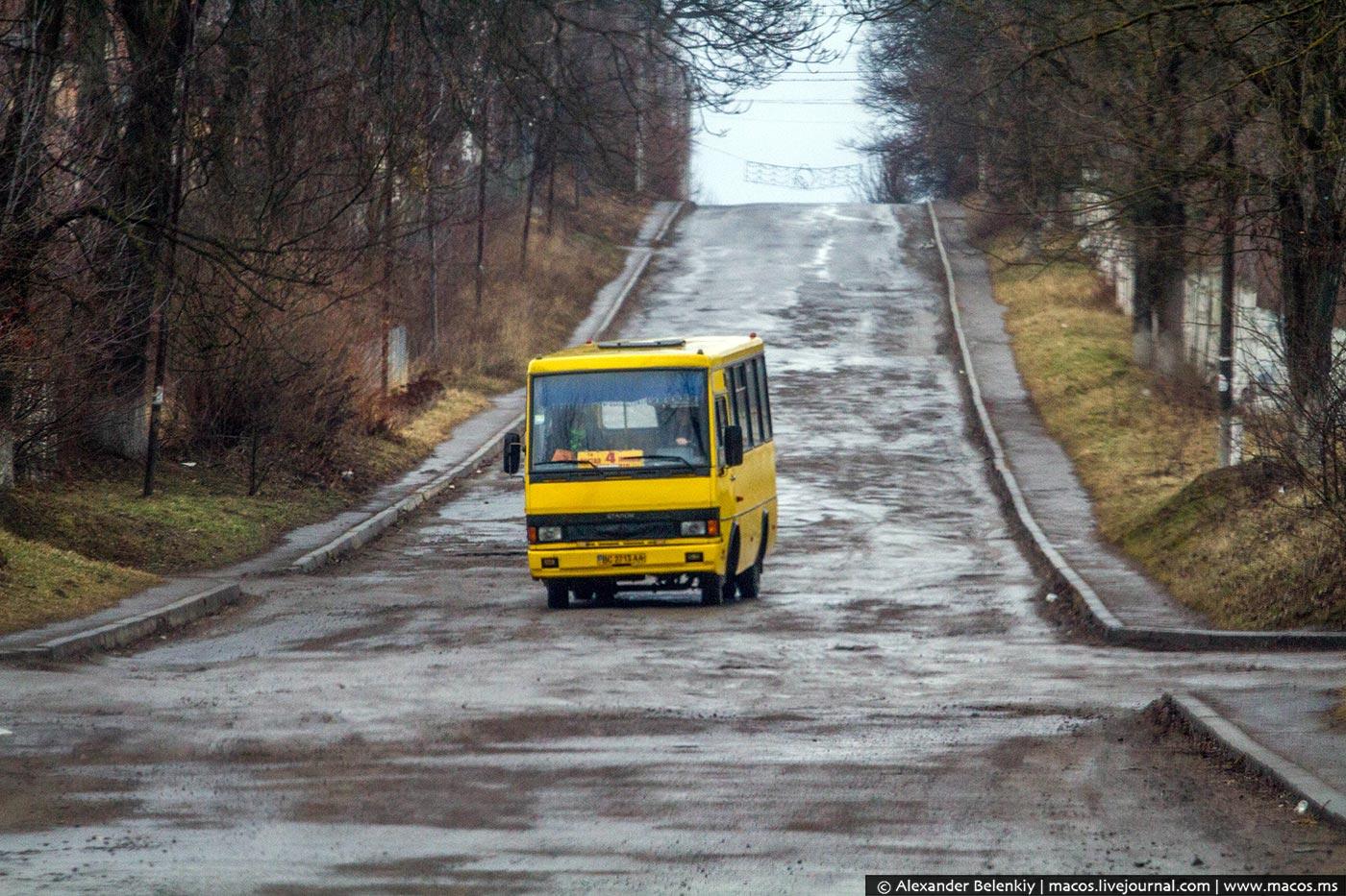 Что в Украине вместо дорог