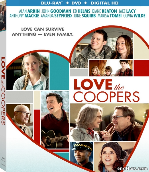 Любите Куперов / Love the Coopers (2015/BDRip/HDRip)