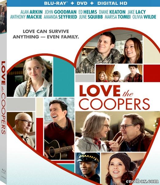 Любите Куперов / Love the Coopers (2015/BDRip/HDRip)