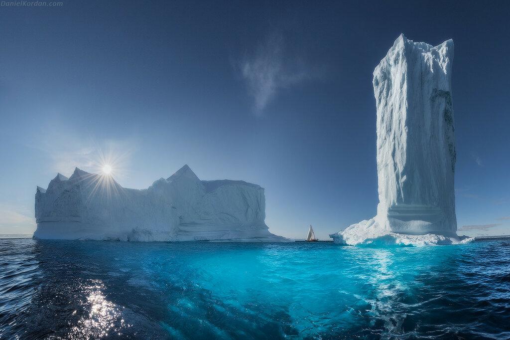 """Из альбома """"Лучшее за 10 лет"""". Гренландия, плавание на Петре-1 из Питера"""