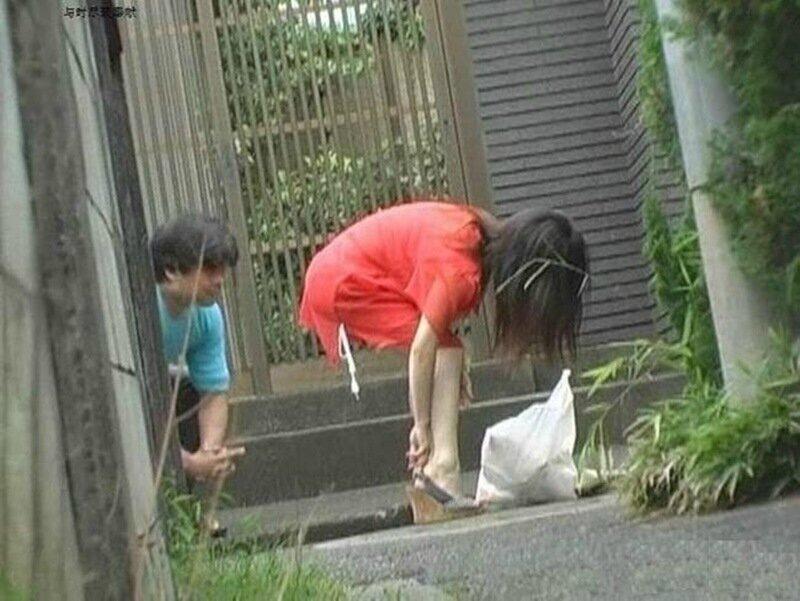 Шокирующие фото. Японская забава «Кантё» (5 фото и видео)