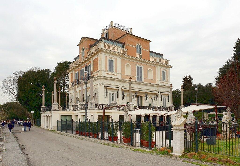 Рим. Ресторан Казина Валадиер (Casina Valadier)