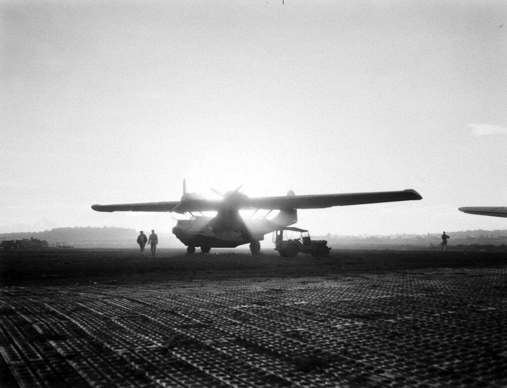 BLACK CAT SQUADRON - PACIFIQUE - 1943