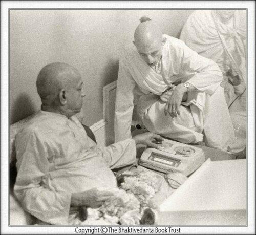 Satsvarupa dasa Goswami  i Prabhupada