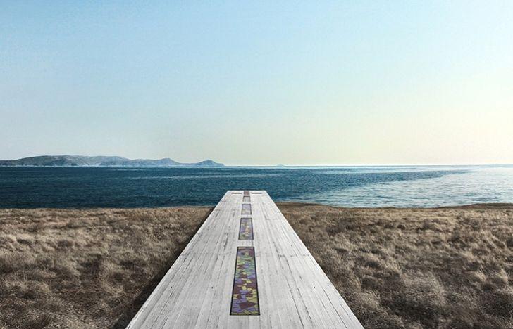 3. По проекту архитекторов, она будет находиться на острове Серифос, встроенная прямо в скалистый об