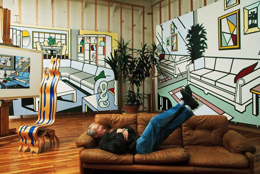 15. Рой Лихтенштейн (Roy Lichtenstein)