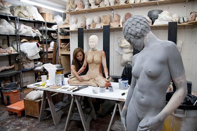Кэрол А. Фойерман – гиперреалистичный скульптор