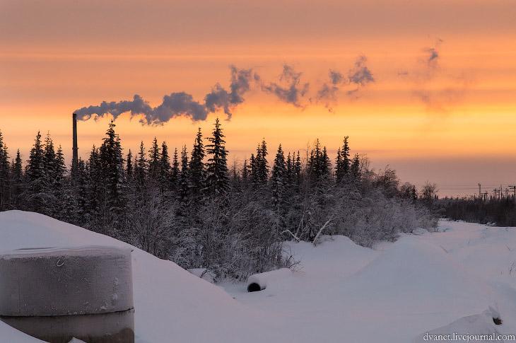 Суровые зимние Хибины… Фотографии Дениса Агапова (22 фото)