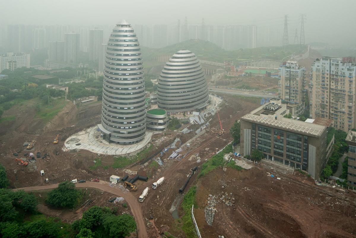 Чунцин известен как «град в горах», центральная часть городского района, расположенная между руслами