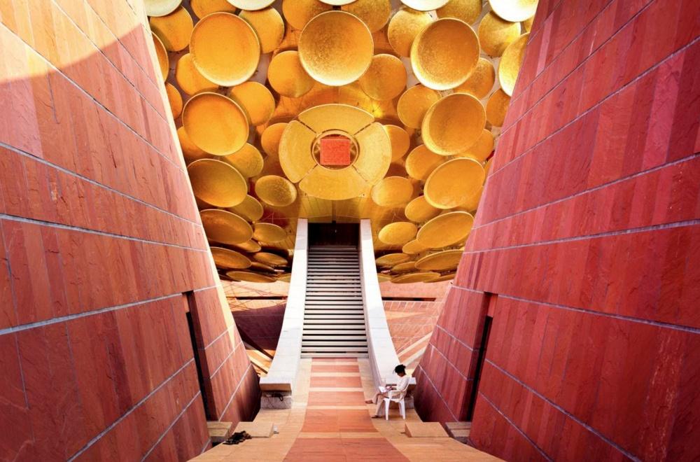 Ауровиль— город будущего, которому нет дела дополитики, религии инациональностей