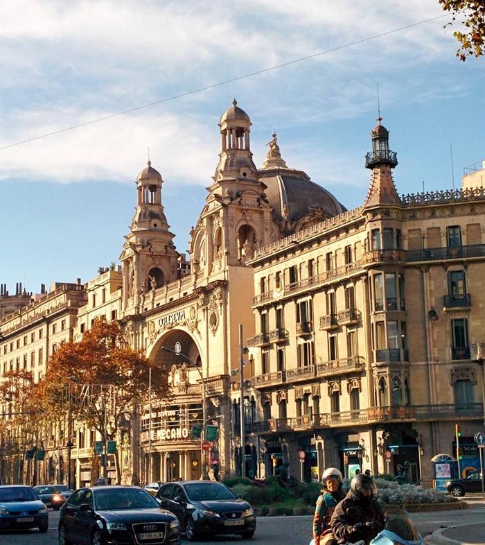 Красивая архитектура Барселоны Instagram фото 17