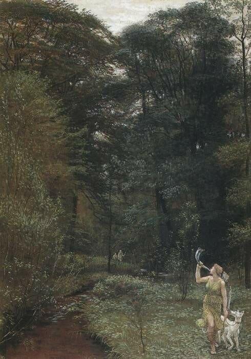 Крейн. Диана, 1881