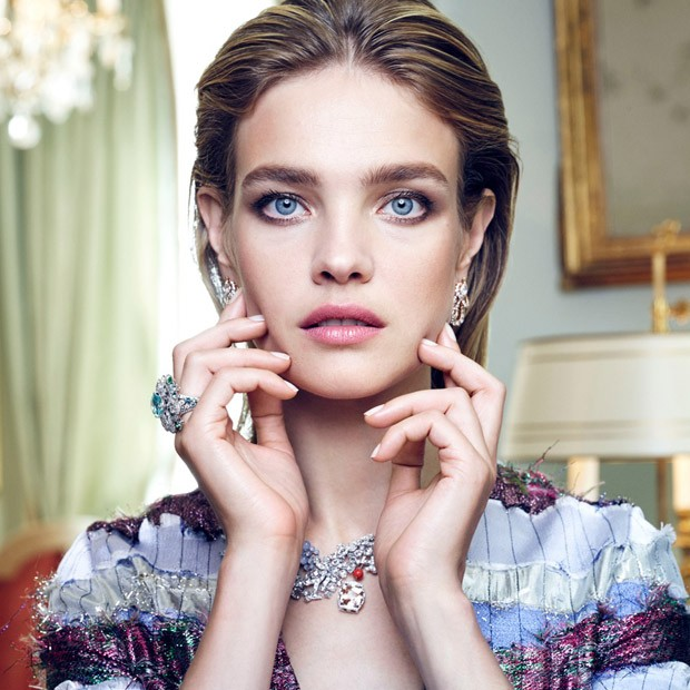 Natalia Vodianova for Vogue Spain by Nico Bustos