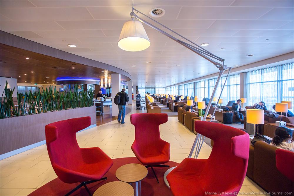 AMS KLM lounge