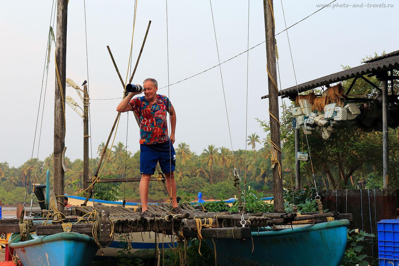 Фото 12. Пират. Отдых в Южном Гоа в октябре. Рассказы туристов о поездке в Индию самостоятельно (24-70, 1/200, 1eV, f9, 70mm, ISO 400)
